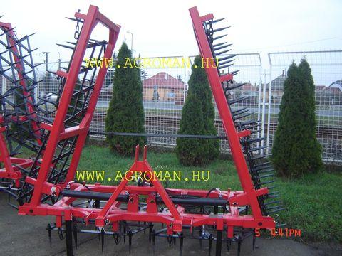 Egyéb Borona új 6,6 m hydraulik ,65 kg levéllel+simitó