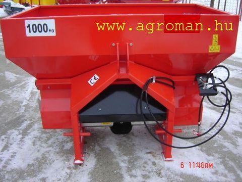 Egyéb 1000 kg  új műtrágyaszóró hid.2.tárcsás,2 henger