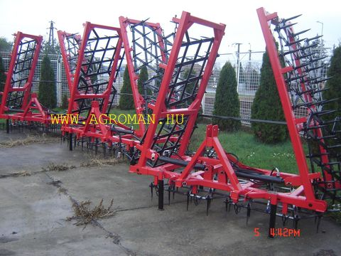 Egyéb Borona új 7,7 m hydraulikus ,50 kg levéllel