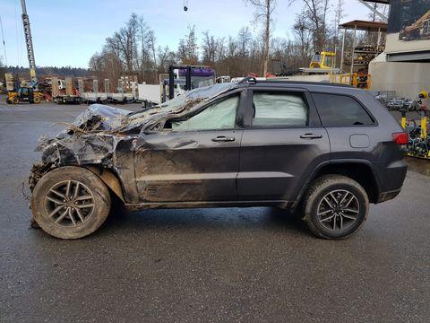 Jeep Grand Cherokee - Unfallfahrzeug