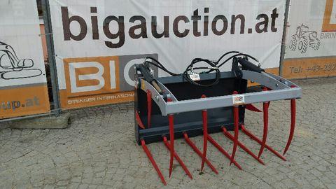 BIG Krokodilgabel 125cm mit Bobcat Aufnahme