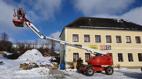 JLG 460SJ Teleskop Arbeitsbühne 4x4