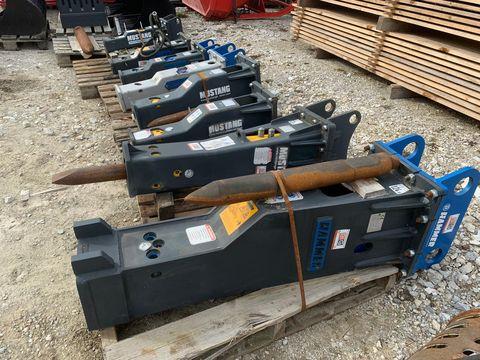 Hammer Hydraulikhämmer von 70 - 3000 kg