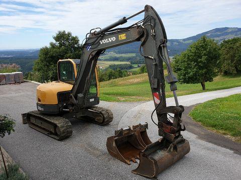 used Volvo mini excavator - Landwirt com