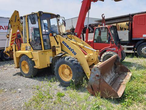 used Komatsu excavator loader - Landwirt com