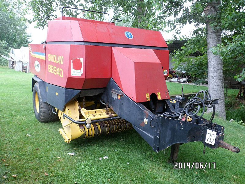 New holland bb 940s air comprim pneumatique for Chambre a air tracteur occasion