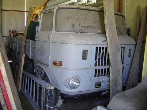 Egyéb Ifa W50L hosszúplatós lassújármű teherautó