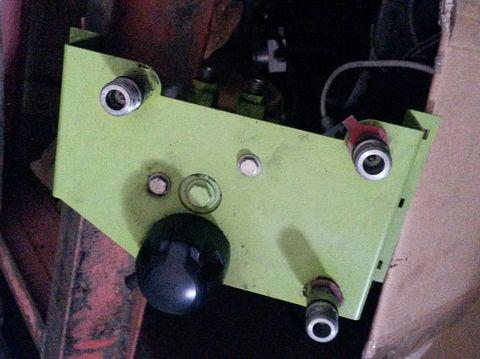 Claas hidraulikus csatlakozó, kapcsoló