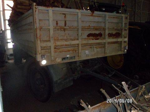 Egyéb BSS PV 16 12 2 tengelyes pótkocsi