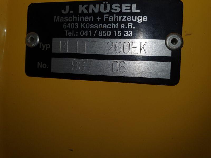 Knüsel, 260 Blitz Express, 2011 | Frontscheibenmäher | Agropool