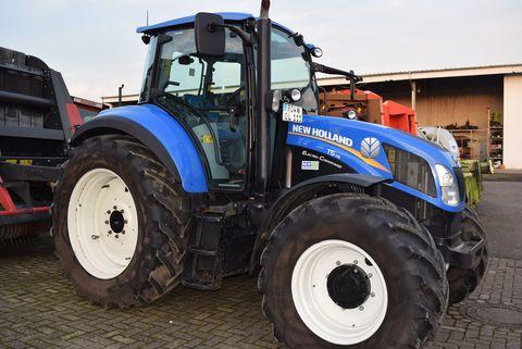 used New Holland tractors Bremen - Landwirt com