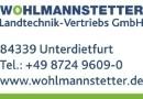 Wohlmannstetter Landtechnik-Vertriebs GmbH