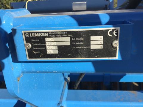Lemken Quarz 7/300 Kurzkombimation