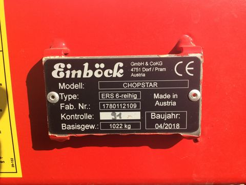Einböck Chopster ERS 6-reihig  Front