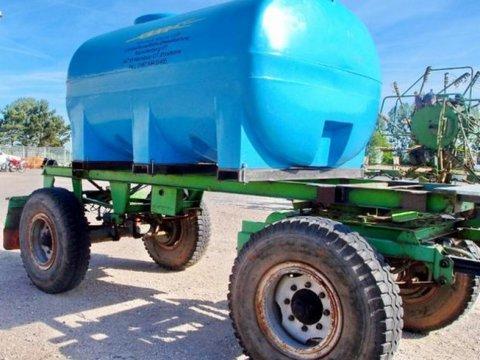 Fortschritt HW 60 mit Duraplas Wasserbehälter