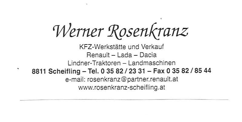 Rosenkranz Werner