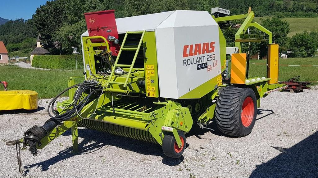 Claas rollant 255 rc uniwrap syst me 2 d air comprim for Chambre a air tracteur occasion