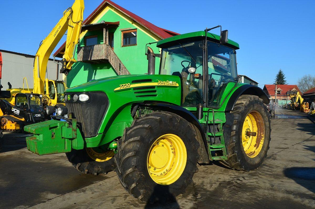 john deere john deere 7720 traktor agrosprinter. Black Bedroom Furniture Sets. Home Design Ideas