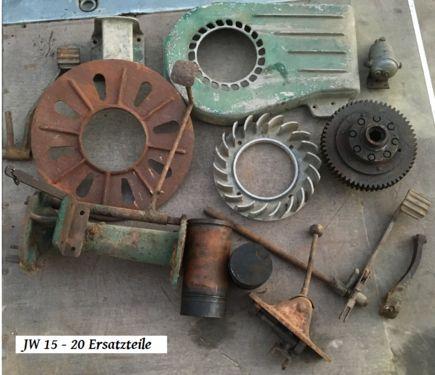 Lindner Ersatzteile JW 15 - 20