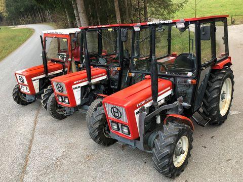 Lindner gebrauchte Traktor u. Gruber Ladew. Ersatzteile