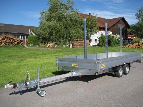 Ablinger  A520A mit ausziehbarer Deichsel