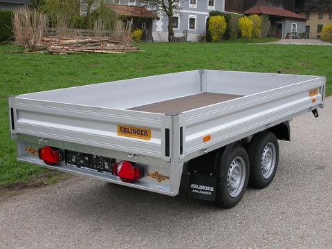 Humbaur Hochlader HT203116 komplett mit Typisierung