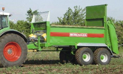 Bergmann Bergmann TSW 3140 T szervestrágyaszóró + AJÁNDÉK