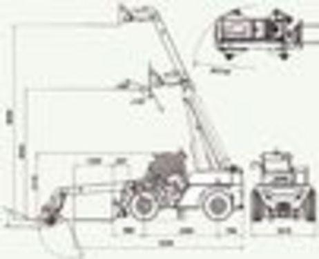 Ausa T276H 6,1m Hubhöhe 2.700kg Hubkraft