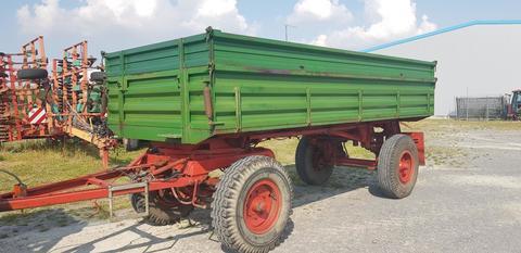 SCHENK Ackerwagen Getreideanhänger 12 To 2 Seitenkipper