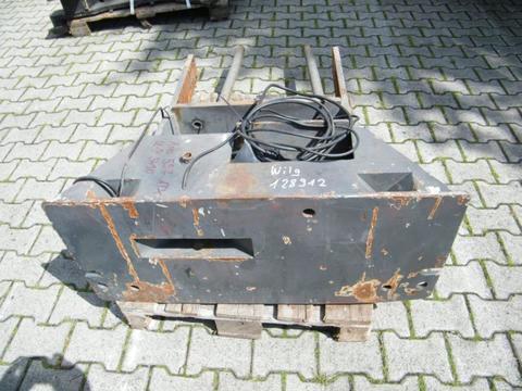 CLAAS Ares 557 Kommunalplatte