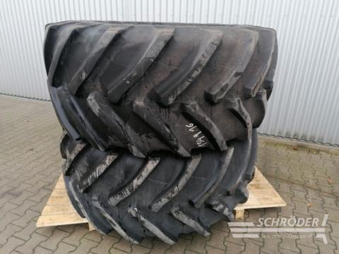 Trelleborg 2x 800/65 R32 TM 2000, Lexion