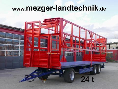 MezTec BW 24-H Ballenwagen mit Hydr. Ladungssicherung (