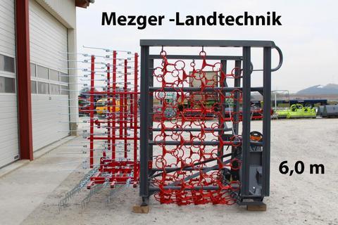 MezTec WK6 (Wiesenschleppe Kombi) Wiesenegge