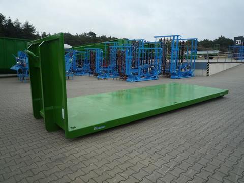 EURO-Jabelmann Container STE, 6250/Plattform Abrollcontainer-Hakenliftcontainer, 6,25 m Platt