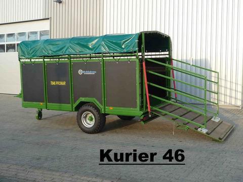 Ab Lager: Pronar Viehanhänger, NEU, Kurier 46 für 6 GV, Kurier 46/1 für 10 GV, Kurier 46/2 für 12 GV hyd