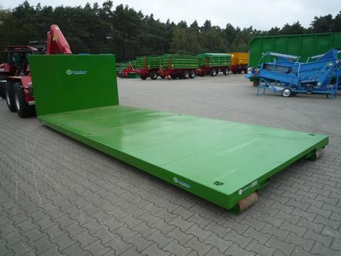 EURO-Jabelmann Container STE 5750/Plattform, Abrollcontainer, Hakenliftcontainer, 5,75 m Plat