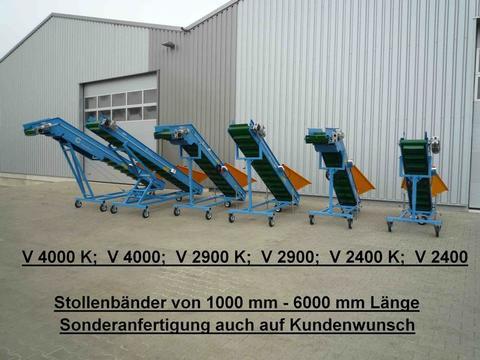 EURO-Jabelmann Förder- Stollenbänder, NEU, Länge: 1000 - 6000 mm, eigene Herstellung (Made