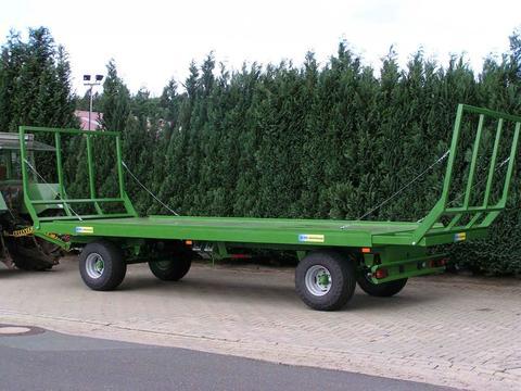 Pronar ab Lager, 2-achs Ballentransportwagen, TO 25 M;