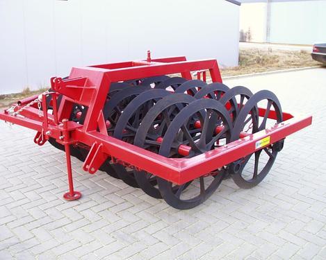 EURO-Jabelmann Doppelpacker, 11 Ringe, 900 mm, 1,46 m Arbeitsbr