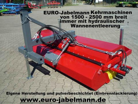 EURO-Jabelmann Kehrmaschinen, NEU, Breiten 1500 - 2500 mm, eigene Herstellung, für Schleppe