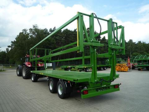 Pronar 3-achs Ballentransportwagen TO 26 M einschl.  hydr. Ladungssicherung, 18 to, NEU