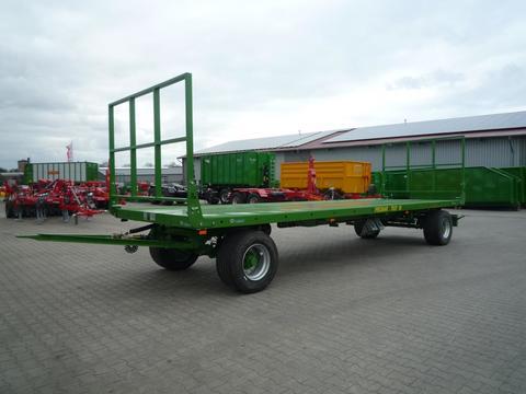 Pronar 2-achs Ballentransportwagen, TO 27 M; 18 to. Pronar Anhänger Ballenwagen Ballentranspo