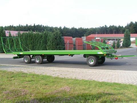 Pronar Ballenwagen TO 26 M, 18 t., Druckluft, 3-achser