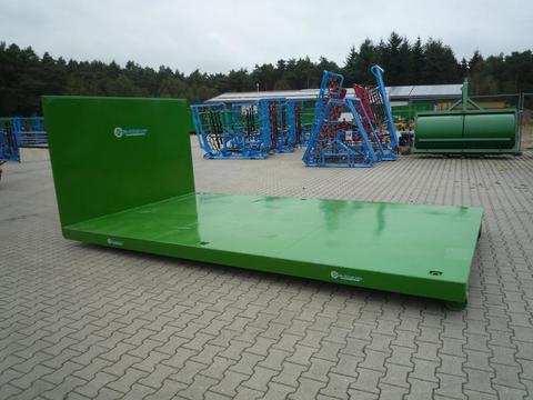 EURO-Jabelmann Container STE 4500/Plattform, Abrollcontainer, Hakenliftcontainer, 4,50 m Plat
