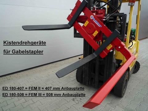 EURO-Jabelmann Kistendrehgeräte für Gabelstapler und Frontlader, NEU, eigene Herstellung  (Made i
