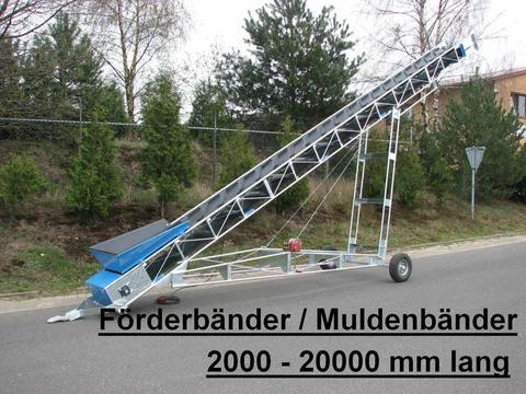 EURO-Jabelmann Förder- Stollenbänder, NEU, Länge: 2000 - 25000 mm, eigene Herstellung (Made