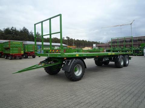 Pronar 3-achs Ballenwagen TO 28 KM, 24 to Gesamtgewicht, NEU auch mit hydr. Ladungss