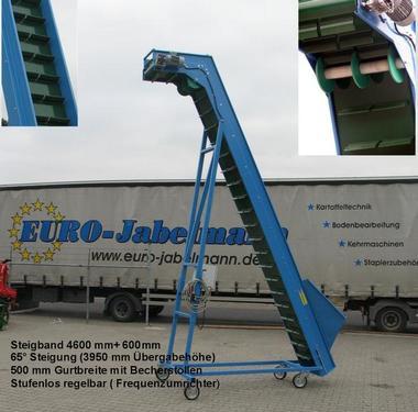 EURO-Jabelmann Förderband/Steilfördere, 2 - 25 m, NEU, eigene H