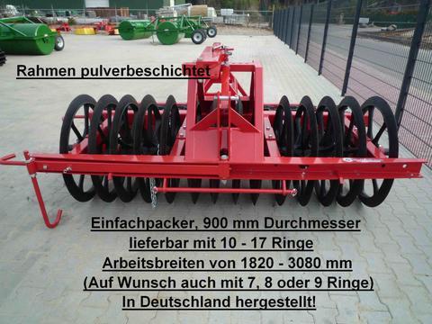 EURO-Jabelmann Einfachpacker, 14 Ringe, 900 mm , 2,55 m Arbeits