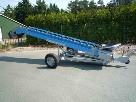 EURO-Jabelmann Förderband, EURO-Carry 4900/650, elektrisch/hydraulisch, sch